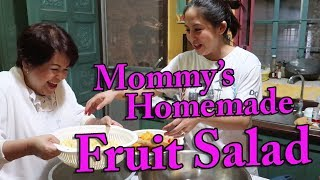 Mommy's Homemade Fruit Salad #JolinaNetwork