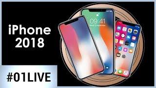 iPhone 2018 : ce que nous réserve Apple - 01LIVE HEBDO #196