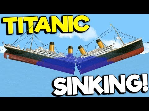 SINKING THE TITANIC WITH A SAW! - Floating Sandbox | Youtube