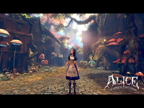 Alice Madness Returns [First Hour PS3 Gameplay]