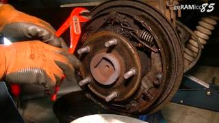 HOW TO REPLACE DRUM BRAKE SHOES+CHANGE WHEEL CYLINDER IN DETAIL DIY FULL REAR SERVICE FIX+ADJUST