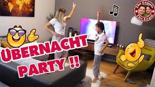 ÜBERNACHT PARTY MIT MILEY   Wir Tanzen Die Ganze Nacht! Mega Viel Spaß! | Daily VLOG TBATB
