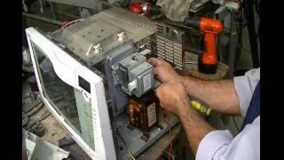 Forno Micro-ondas - reaproveitamento e perigos - Reusing Microwave Oven and danger of that.