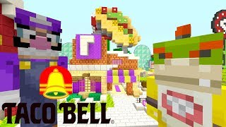 *DANGER* TACO BELL GONE WRONG!   Nintendo Fun House   Minecraft Switch [283]