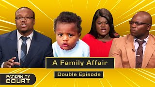 A Family Affair: Cousins Battle It Out For Paternity (Double Episode)   Paternity Court