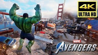 [4K] AVENGERS: A-Day - Full PS4 Demo Gameplay Walkthrough (2020) @ ᵁᴴᴰ ✔