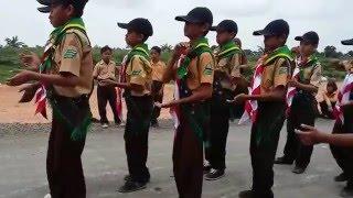 Pramuka MIN Barja_Juara II Yel-Yel Tingkat Siaga Putra Dalam Ajang Lomba GS Kwarran Dasel