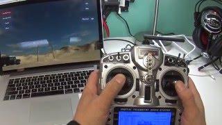 Quick FPV Simulator Setup with Taranis X9D (FPV Freerider)