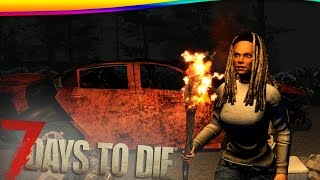 7 Days to Die - MINI HORDA DE ZUMBIS! #08