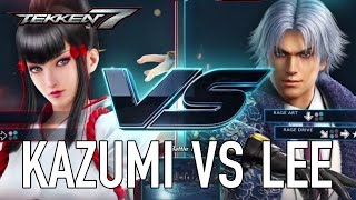 Kazumi VS Lee