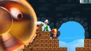 New Super Luigi U   All Castles (2 Player)