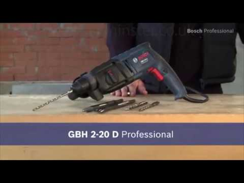 Bosch GBH 2-20 D Professional Rotary Hammer with SDS plus - Product Overview