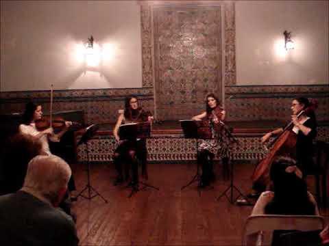 El cuarteto de cuerdas Quillén en Junín