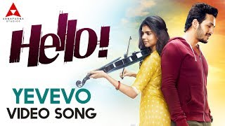 Yevevo Video Song || Hello Video Songs || Akhil Akkineni, Kalyani Priyadarshan
