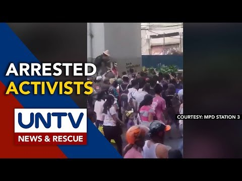 [UNTV]  Panday Sining group calls for release of members nabbed for vandalism