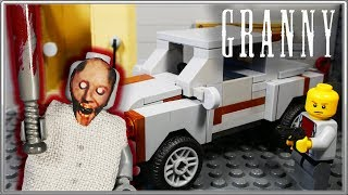 "LEGO Мультфильм Granny 2 ""Конец истории"" / Horror game Granny 2 / LEGO Stop Motion"