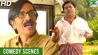 Dushman Zamana - Best Comedy Scenes | Hindi Dubbed Movie | Maruthi Vasanthan, Mrudhula Basker