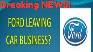 Ford Cars stopping production! Ford car business, Ford figo freestyle EcoSport ikon figo aspire