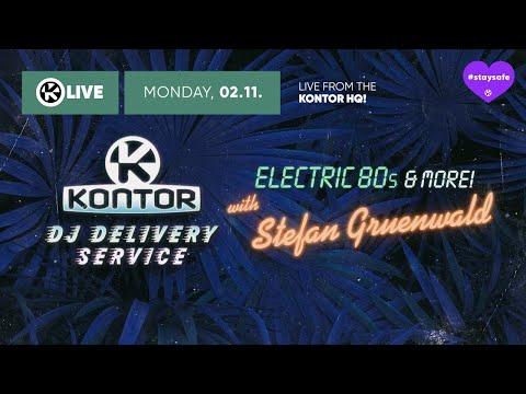 Electric 80s & More w/ Stefan Gruenwald // Kontor DJ Delivery Service