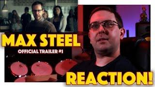 REACTION Max Steel Official Trailer 1  Superhero Movie 2016