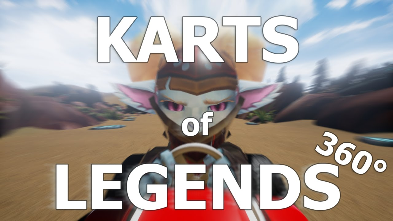 League Of Legends Crossed With Mario Kart Actually Makes A Lot Of Sense
