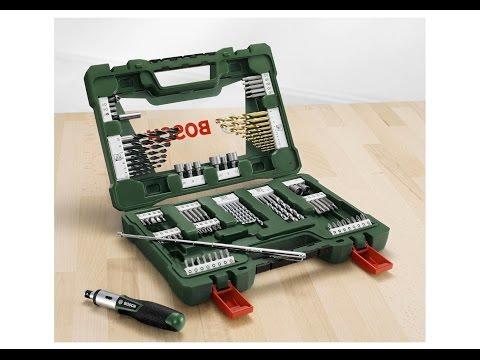 BOSCH Maletin V-Line de 91 piezas para taladrar y atornillar