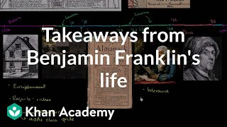 Takeaways from Benjamin Franklin's life