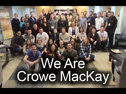 We Are Crowe MacKay - We Care, We Share, We Invest, We Grow
