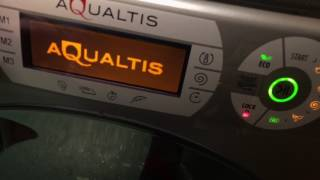 Overview of my old Hotpoint aqualtis washing machine (Model AQ113D 697S UK)