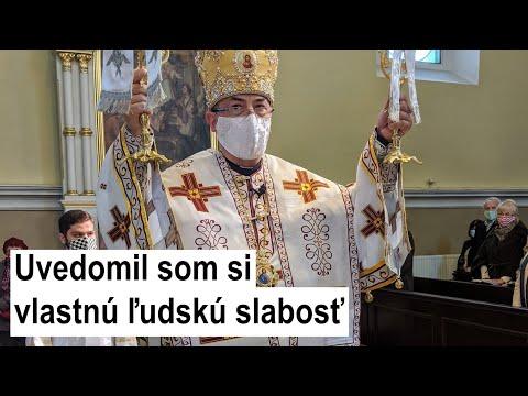 Príhovor vladyku Cyrila Vasiľa SJ: Po vyliečení z koronavírusu exkluzívne pre LOGOS TV - prvá časť