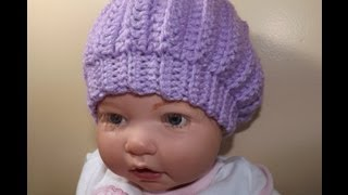 Crochet baby hat - with Ruby Stedman