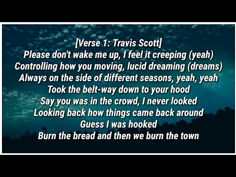Travis Scott - WAKE UP (Lyrics) ft. The Weeknd