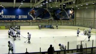 ХК БРЯНСК 2012 ....перед второй игрой с ХК ТАМБОВ 06.02.2012.