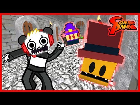 Roblox Escape Dungeon Master Floor is Lava Let's Play with Combo Panda (видео)