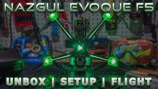 IFlight Nazgul F5 Evoque DC 4S (Unboxing, Setup, & Flight Footage)
