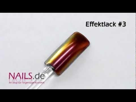 Flip Flop Effekt Nagellack für künstliche Fingernägel