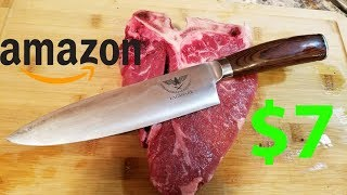 Best Cheap Chef Knife on Amazon. Best Kitchen knife under 10 dollars.