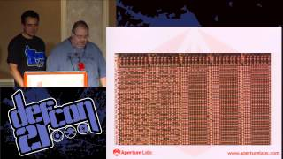 DEF CON 21 - Adam Laurie and Zac Franken - Decapping Chips the Easy Hard Way