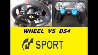 GT SPORT WHEEL VS PAD?