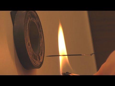Магнит огонь игла