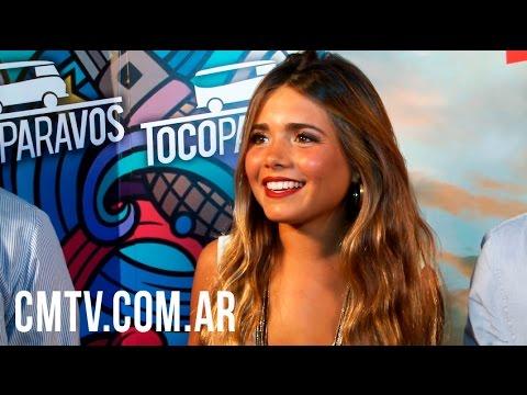 Toco Para Vos video Presenta 1er disco - Entrevista CM | Agosto 2016