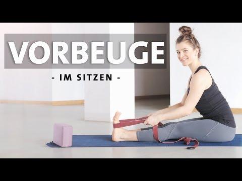 Sitzende Vorbeuge Yoga Anfänger | Asana lernen | Paschimottanasana