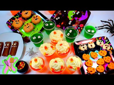 Deliciosos Snacks De Halloween Sin Horno
