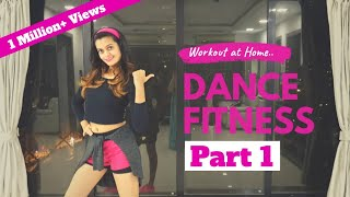 Bollywood Dance Fitness Workout at Home   20 Minutes Fat Burning Cardio : Part 1