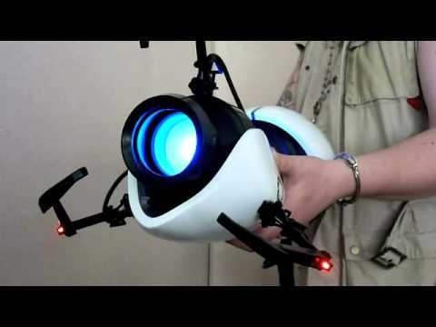 A Good Look At The Portal Gun Toy In Action