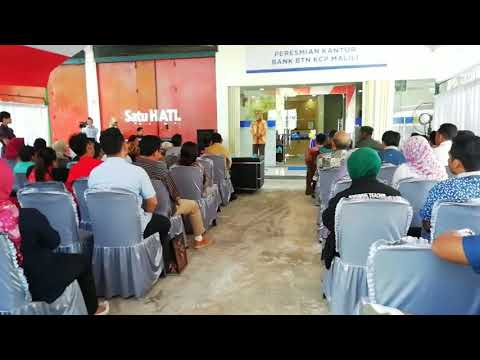 Peresmian Bank BTN KCP Malili Luwu Timur