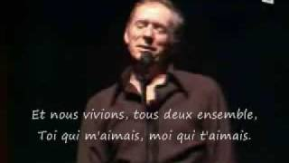 Les Feuilles Mortes : Yves Montand