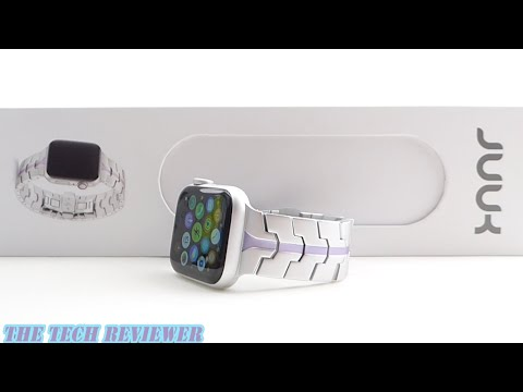 Hands on with JUUK Vitero: An Upscale Aluminum Band for Apple Watch!