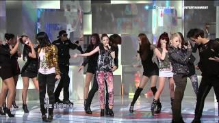 2NE1_0912_SBS Popular Music_GO AWAY [HD]