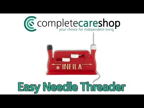 Watch a Needle Threader in Action